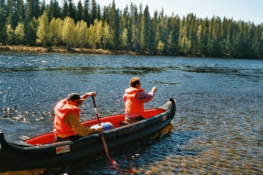 paddla kanot tips